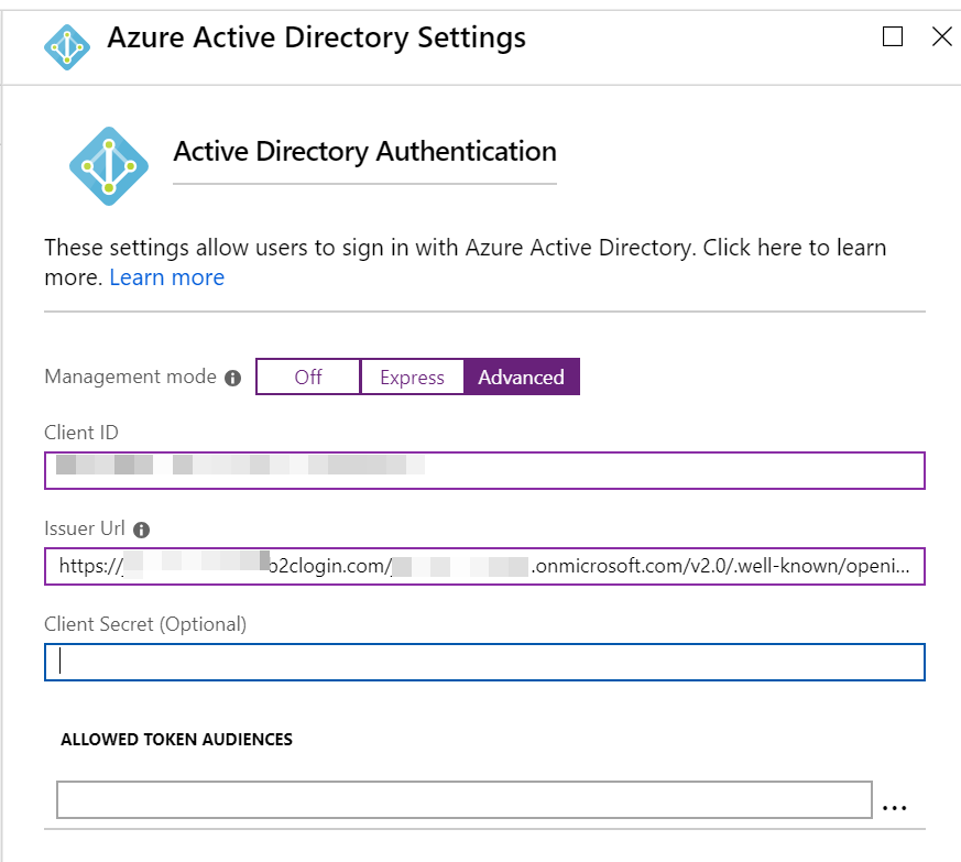 Active Directory Auth
